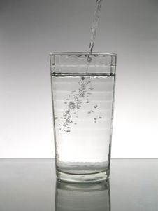 Free Glass Of Water Royalty Free Stock Images - 5148789