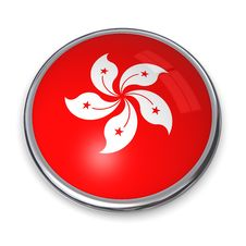 Free Banner Button Hong Kong Royalty Free Stock Images - 5148799