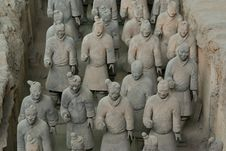 Free The Terracotta Warriors Stock Images - 5149454