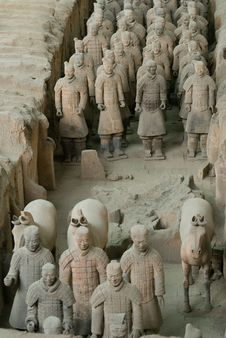 Free The Terracotta Warriors Royalty Free Stock Photo - 5149465