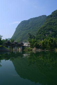 Free Li River Near Yangshuo Royalty Free Stock Photo - 5149585