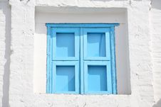 Free Blue Window Royalty Free Stock Images - 5149599