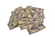 Free Lot Of Dollar Banknotes Royalty Free Stock Images - 5149829
