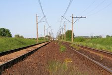 Free Railway Tracks Stock Photography - 5149842