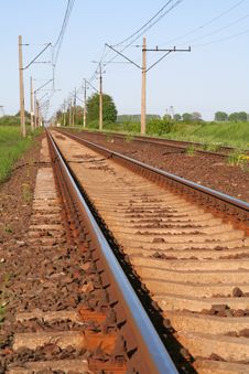 Free Railway Tracks Stock Image - 5149921