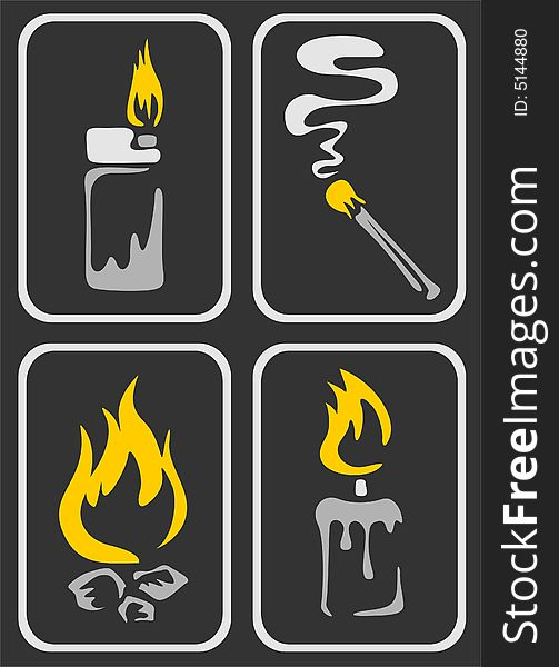 Fire Symbols - Free Stock Images & Photos - 5144880