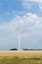 Free A Wind Farm In The Wide Spread Field Royalty Free Stock Photo - 51449845
