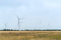 Free A Wind Farm In The Wide Spread Field Royalty Free Stock Image - 51450016