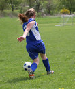 Free Teen Youth Soccer Action 2 Stock Photography - 5155112