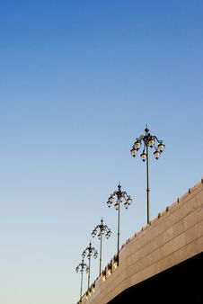 Free Several Lamp Posts Stock Photos - 5150173
