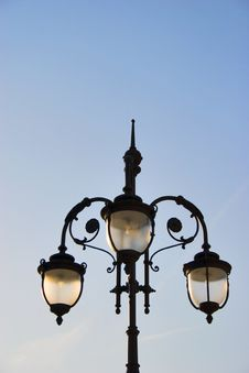 Free Lamp Post Royalty Free Stock Photography - 5150237