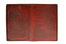 Free Vintage Leather Passport Cover Royalty Free Stock Images - 5150489