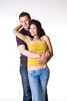 Free Romantic Couple Royalty Free Stock Photography - 5150877