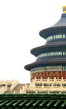 Free The Temple Of Heaven Royalty Free Stock Photo - 5151245