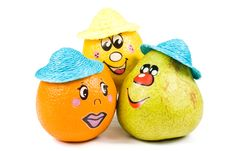 Free Cheerful Little Men From A Fresh Fruits Stock Photography - 5151482
