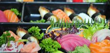 Free Mixed Sushi Stock Image - 5151651