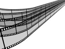 Blank Filmes Royalty Free Stock Photo