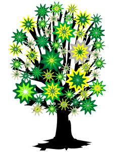 Free Colorful Tree Royalty Free Stock Photo - 5152305