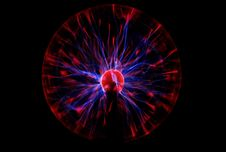 Plasma Lamp Stock Images
