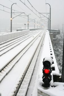 Free Snow S Shanghai Metro Stock Photo - 5152560
