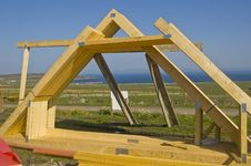 Free Roof Timbers Royalty Free Stock Photo - 5152715