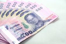 Thai Baht Royalty Free Stock Image