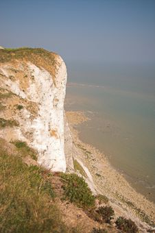 Free Cliffs Near Eastbourne, UK Royalty Free Stock Photo - 5152785