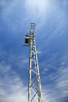 Free Electricity Tower Side Stock Image - 5153201