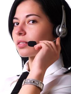 Free Customer Service Representative Royalty Free Stock Photos - 5154008