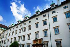Free Building In Heldenplatz, Vienna Royalty Free Stock Photography - 5154867