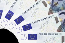 Free Money - 20 Euro Notes Detail Stock Photo - 5154950