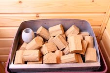 Free Stones On A Sauna Stove Royalty Free Stock Photos - 5155088