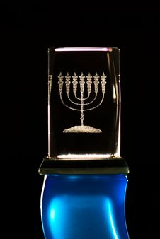Free Menorah Stock Image - 5155481