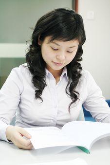 Free Working Asian Women Stock Photo - 5156750