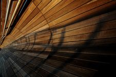 Free Converging Lines And Shadows Stock Photography - 5157092