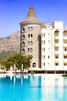 Free Castle - Resort Stock Photo - 5157110