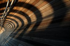Free Converging Lines And Shadows Royalty Free Stock Image - 5157116