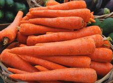 Free Fresh Carrots Royalty Free Stock Image - 5157166