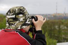 Free Boy Observing Stock Photos - 5158133