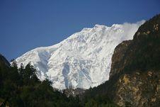 Free View Of Annapurna Mountain Royalty Free Stock Image - 5158176