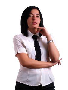 Free Businesswoman S Own Opinion Stock Photos - 5158463