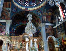 Monastery Near Spili(Crete - Greece) Royalty Free Stock Photography