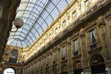 Free Galleria Vittorio Emanuele Stock Photography - 5159082
