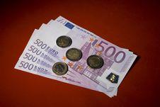 Free Money On Red Stock Photo - 5159480