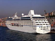 Cruiseship In Turkey