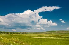 Free Summer Rural Landscape Stock Photography - 5159572