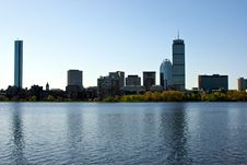 Free Boston Skyline Royalty Free Stock Images - 5159619