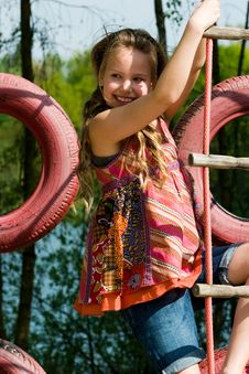 Free Climbing Up Stock Image - 5159671