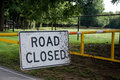 Free Road Closed Sign Royalty Free Stock Image - 5166656