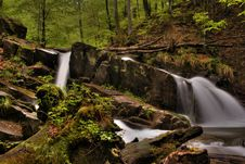 Free Mountain River In The Forest Royalty Free Stock Photography - 5160077